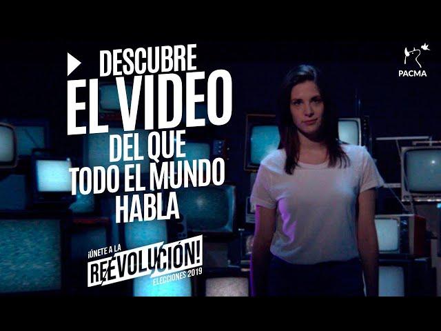 ¡Empieza la ReEvolución! - Spot Electoral de PACMA para las Elecciones 2019
