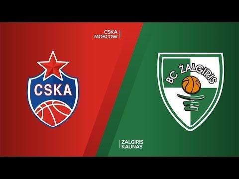CSKA Moscow - Zalgiris Kaunas Highlights | Turkish Airlines EuroLeague, RS Round 12