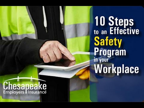 Steps To Creating An Effective Safety Program In Your Workplace