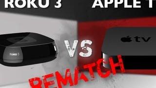 Roku 3 vs. Apple TV (3rd Gen) - Rematch