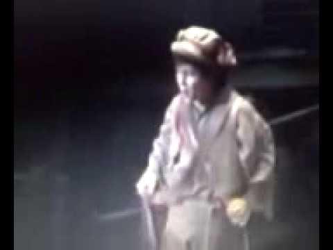 Nick Jonas as Gavroche in Les Miserables 2003