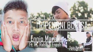 React to Ripengni Burisa   Ennio Marak ft. Rc Rabie & Enosh   Official Music Video
