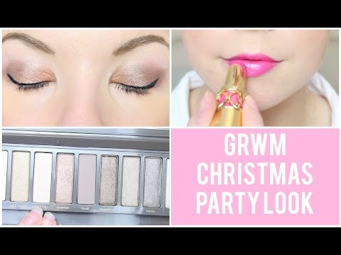GRWM: Christmas Party | Dollybowbow ad