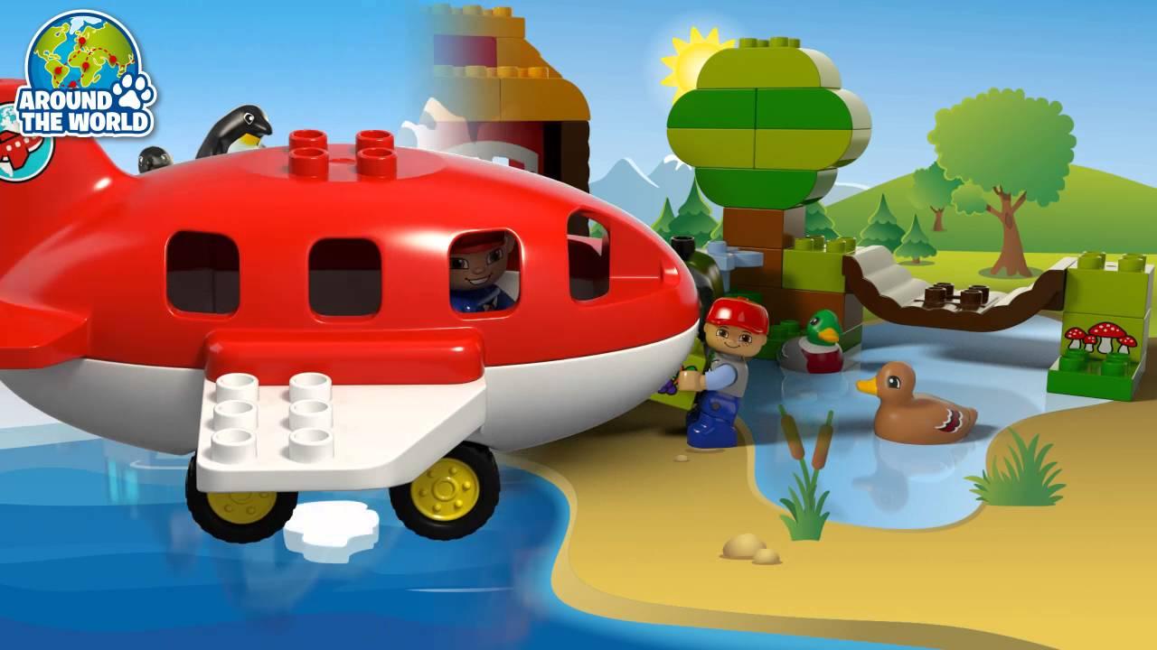 Lego Duplo Dookoła świata Youtube