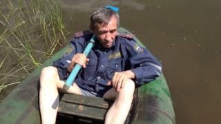 Прикол. Пьяный речной ГАИшник в Самаре