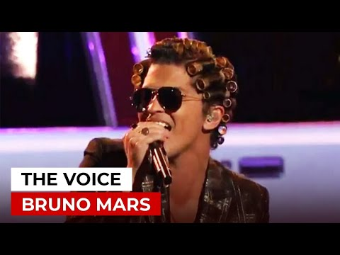 BRUNO MARS in The Voice