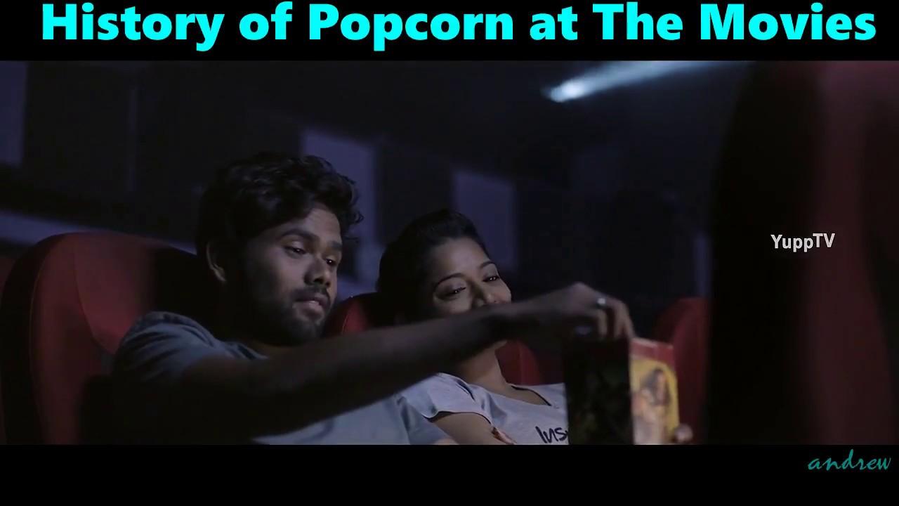 History of Popcorn at the Movies