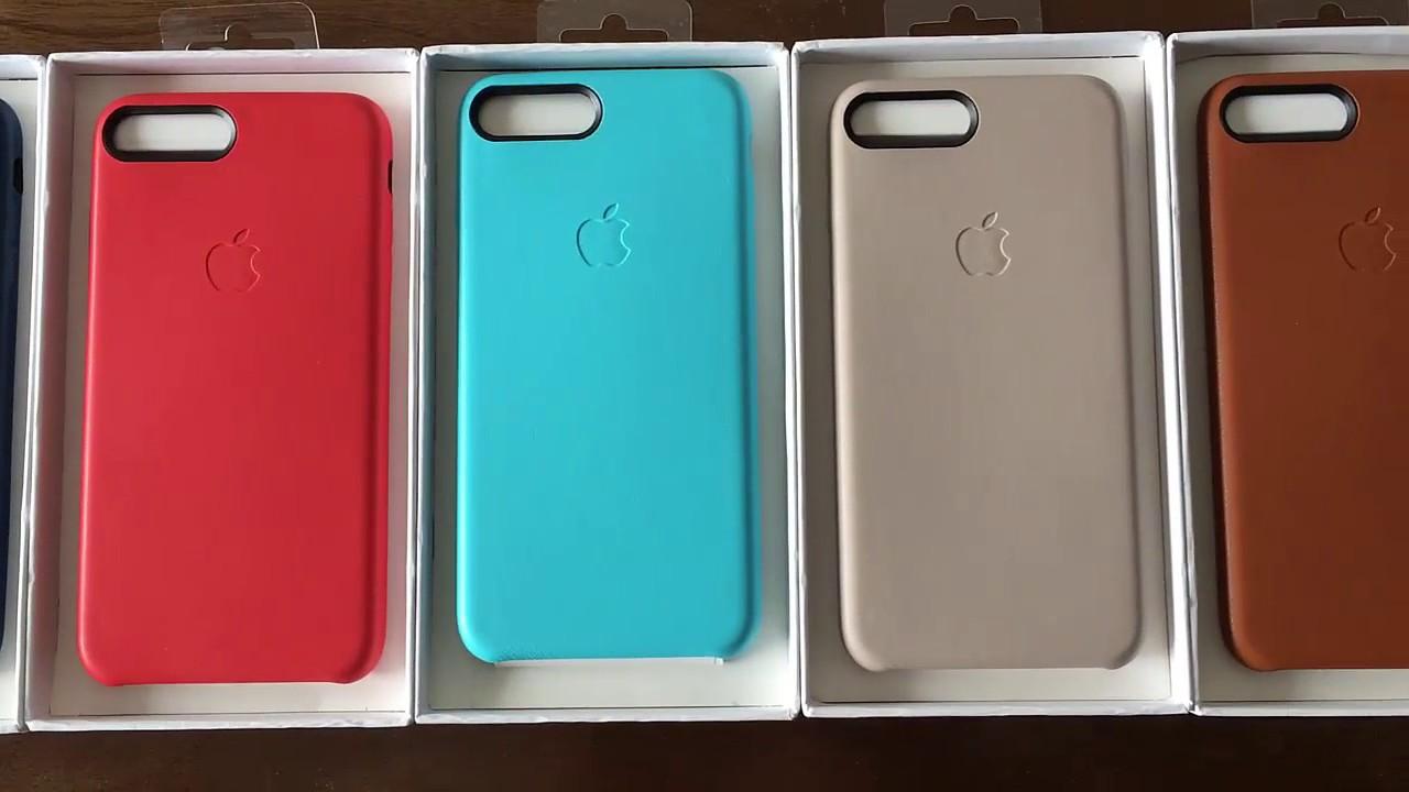 c1286db2ecf Funda Cuero Original iPhone 8 7plus Apple Vidrio Templado 5d - $ 1.000,00  en Mercado Libre