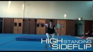 High Standing Sideflip Tutorial - Alberto Poli (ITA/ENG)