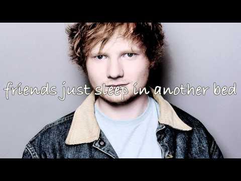 Friends - Ed Sheeran (Lyrics)