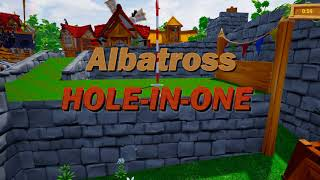 Perfect Grasslands: 18/18 Hole-In-One (Golf It!)