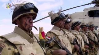 «المتحدث العسكرى» يهدى أغنية لرجال الشرطة فى عيدهم الـ 65
