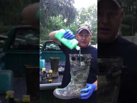 Scent Control For Hunting Boots