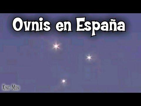 Espectaculares Ovnis captados en España