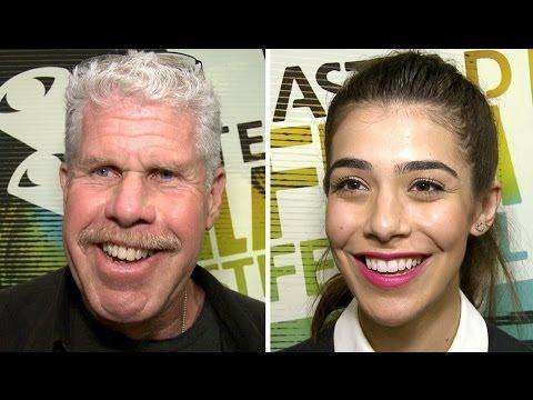 Dermaphoria Premiere Interviews - Ron Perlman, Nicole Badaan & Ross Clarke