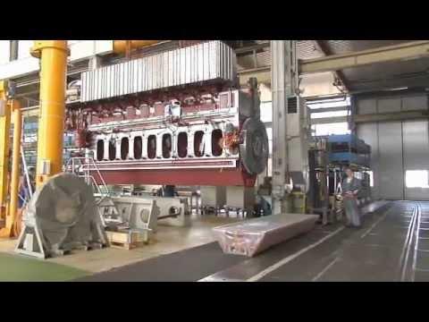 Caterpillar Marine Engine Manufacturing Kiel Youtube