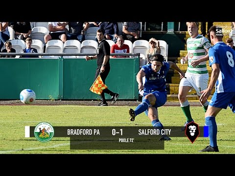 James Poole's goal against Bradford Park Avenue in the FA Cup