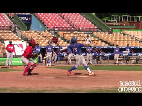 MLB Showcase: 2018 International Catching Prospects