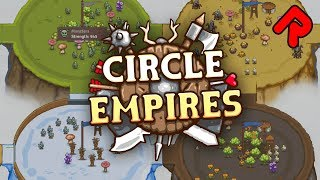 CIRCLE EMPIRES gameplay 2018: Conquer Tiny Islands in this Speedy RTS! (PC full game)