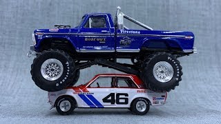 Lamley Showcase: Greenlight's Brilliant Bigfoot & Datsun 510