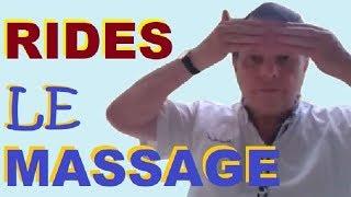 RIDES - Ce Massage BIZARRE Du Front En 3 Points Rajeunit Le Visage Sans Botox
