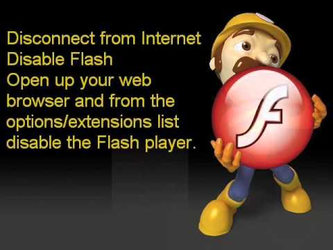 How to fix Flash Player crash--adobe flash keeps crashing