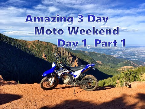 Dual Sport Ride in Colorado Springs - Trail 379, Mount Baldy & Stratton Resevoir
