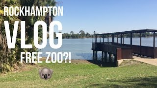 Rockhampton FREE ZOO - Australia Road Trip - Travel Vlog 9