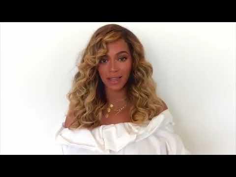 Beyoncé's heartfelt Message for  #HandInHand: A Benefit For Hurricane Relief