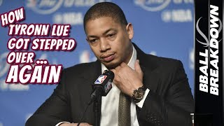 2017 NBA Finals Game 3: How Tyronn Lue Got Stepped Over Again
