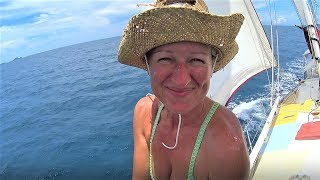 CONNECTING WITH NATURE & ENGINE ROOM LEAKS!  (SAILING SV SAREAN)  EP.7