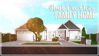 Roblox Bloxburg | Blush One Story Family Home