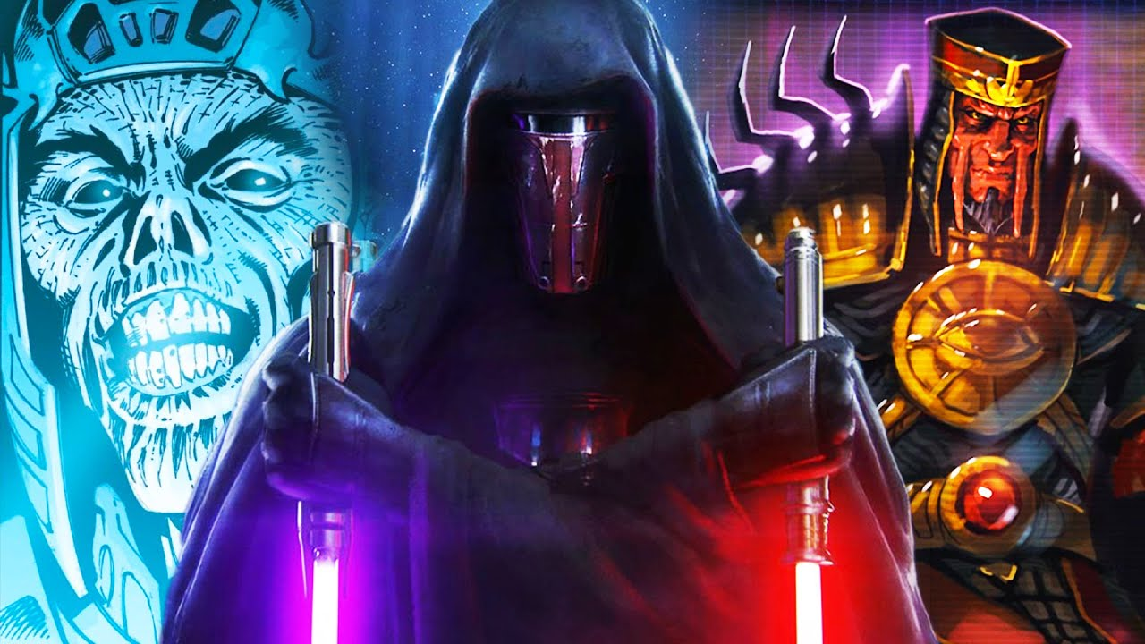 Darth Sidious Favorite Sith Lords Explained Star Wars Canon Lore Youtube