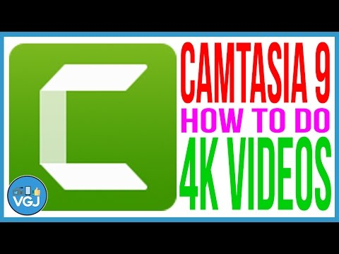 How to Render 4k Videos in Camtasia 9