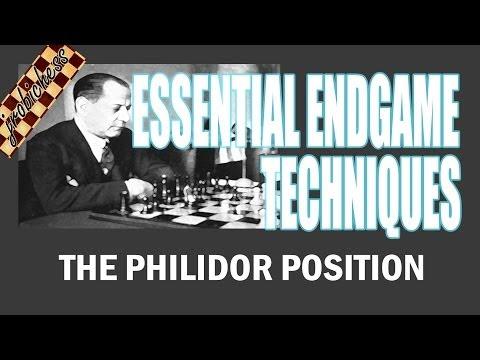 Chess Endgame Study: The Philidor Position
