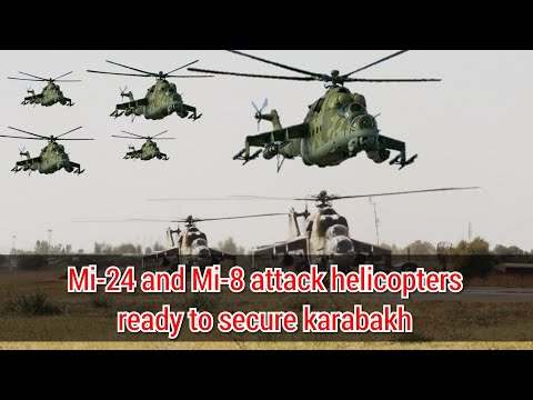 Russian Deploys Mi-24 and Mi-8 Attacks Helicopters to Nagorno-Karabakh