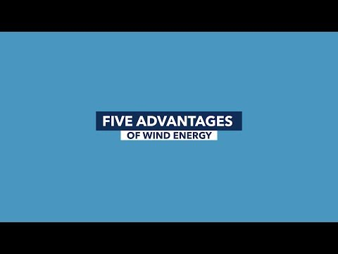 5 Advantages of Wind Energy