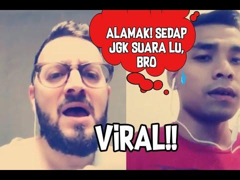 Mat Saleh Suara Sedap Duet Dengan Anak Saleem, Nursyafiq Farhain