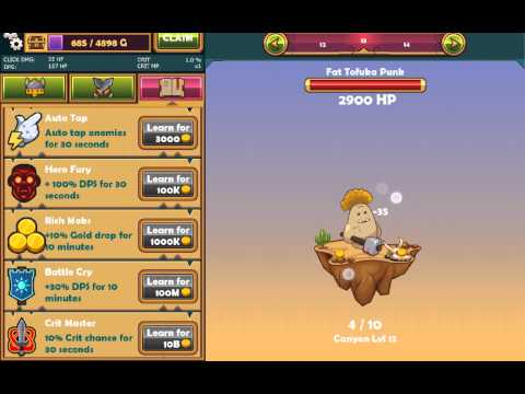 Tapventures (Android Gameplay)
