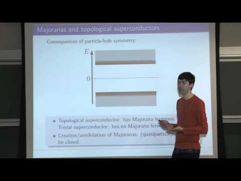 Quantum Transport, Lecture 20: Majorana fermions