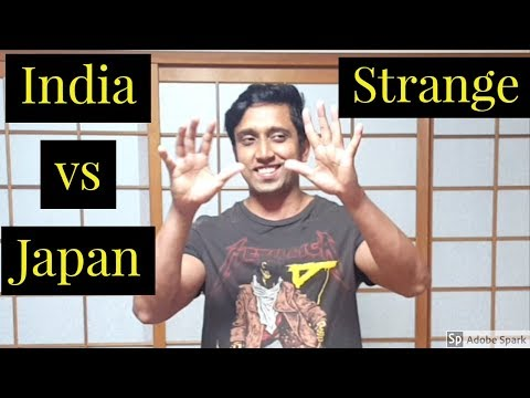 10 things Japanese do differently from indians II indian in japan II rom rom ji !!