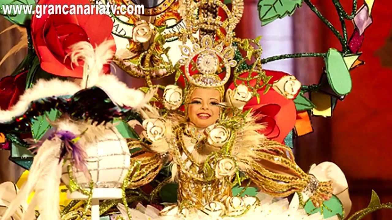 Resumen gala reina infantil carnaval las palmas de gran - Gran canaria tv com ...