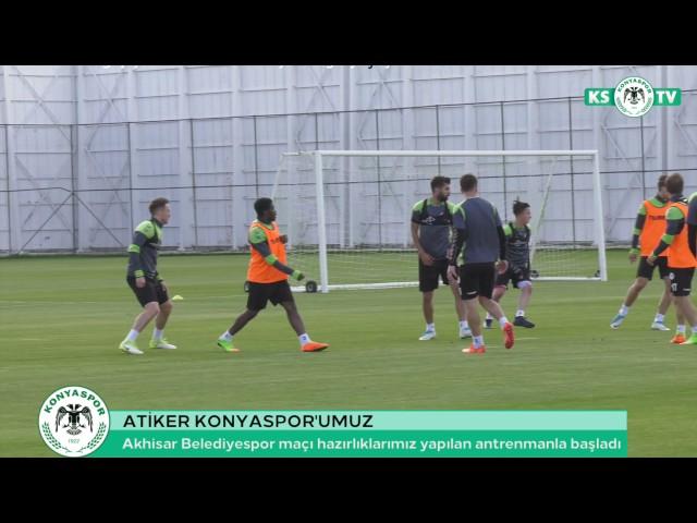 Takımımızda Akhisar Belediyespor maçı hazırlıkları başladı