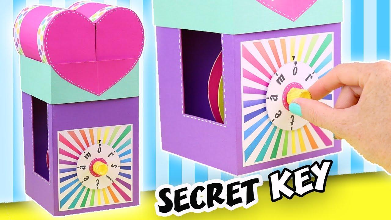 Make a gift with secret key the combination lock - Ideas para regalar a un padre ...