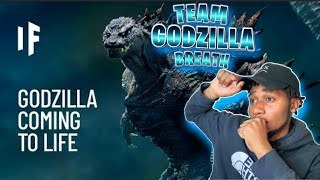 What If Godzilla Were Real? REACTION!!! *TEAM GODZILLA* #WhatIf