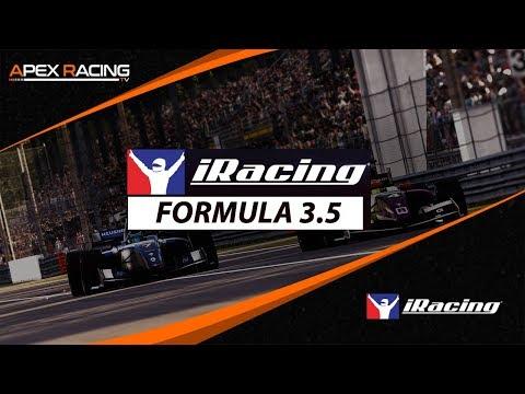 IRacing Formula 3.5 Championship   Week 4 At Donington