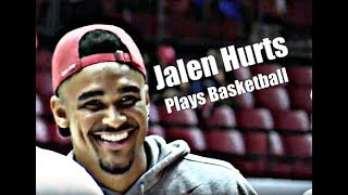 Alabama Crimson Tide Football: Watch Jalen Hurts shoot baskets during the Tide Tipoff