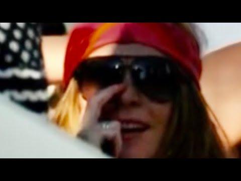 Lindsay Lohan is partying in Malibu