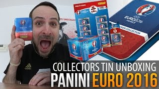 Panini Euro 2016: Collectors Tin Unboxing