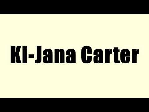 Ki-Jana Carter